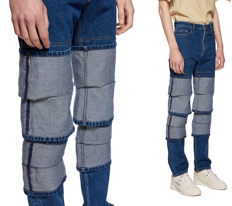Стремные джинсы вашего бати