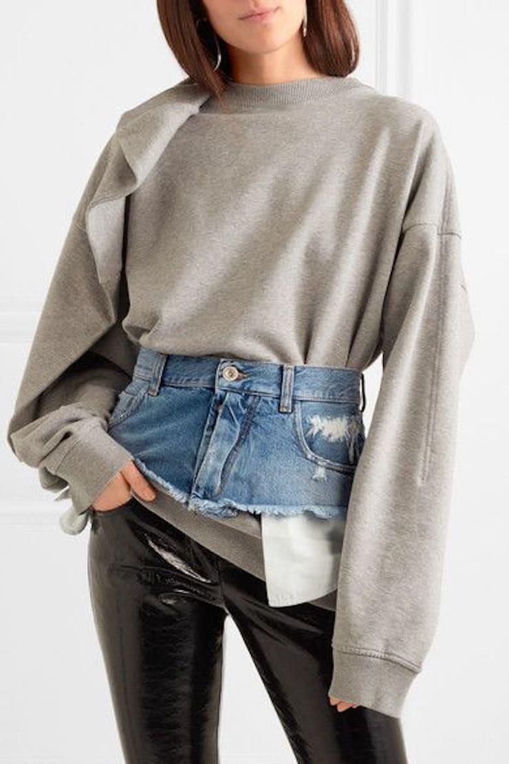 джинсовый пояс