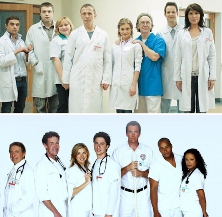 «Интерны» («Клиника»/«Scrubs»)