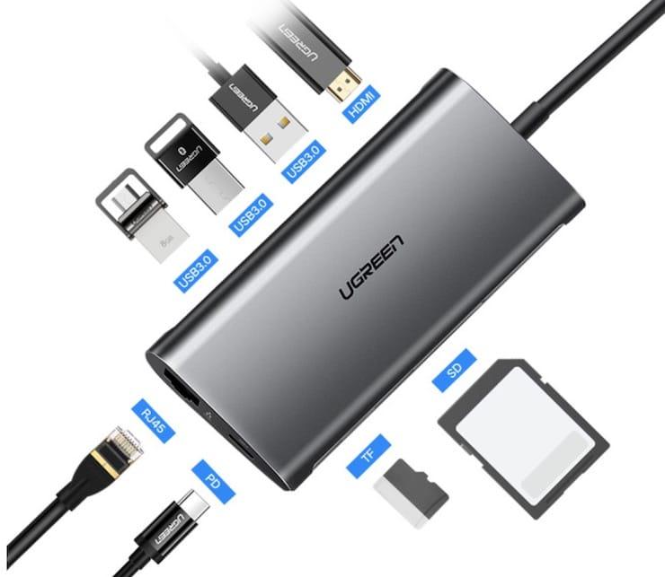 USB (USB Type-C) хабы для MacBook и iMac с AliExpress