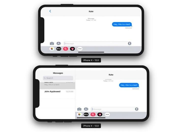 6,5-дюймовый iPhone X получит альбомный режим