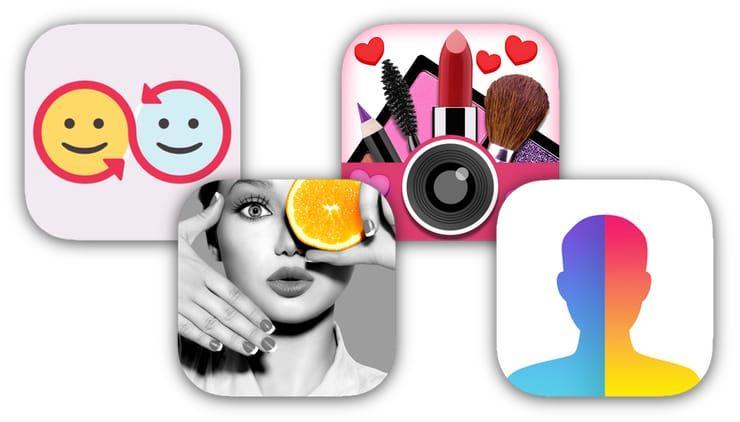 Замена лиц, смена пола, прически, макияж, коррекция фигуры, эффекты и маски на фото