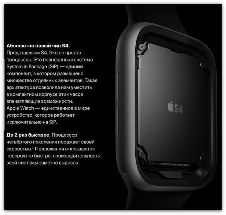 «Железо»Apple Watch Series 4