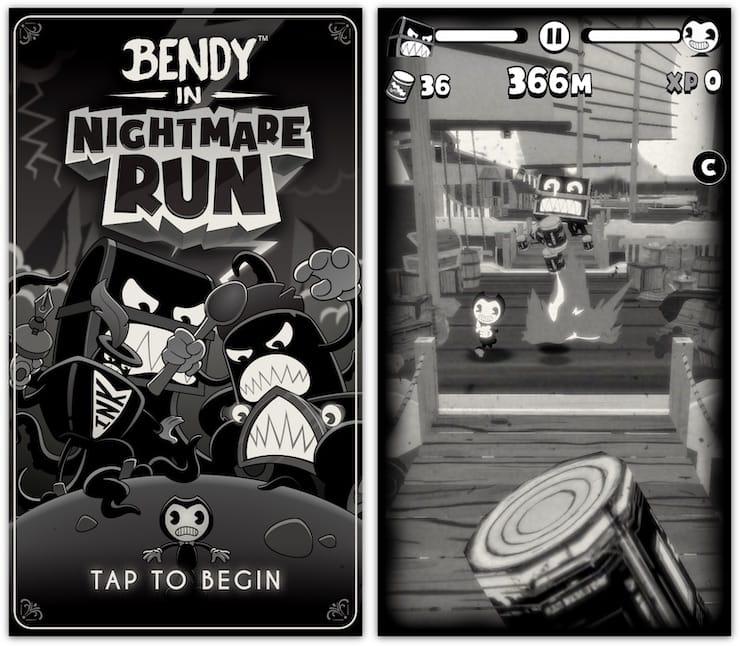 Игра Bendy in Nightmare Run для iPhone и iPad