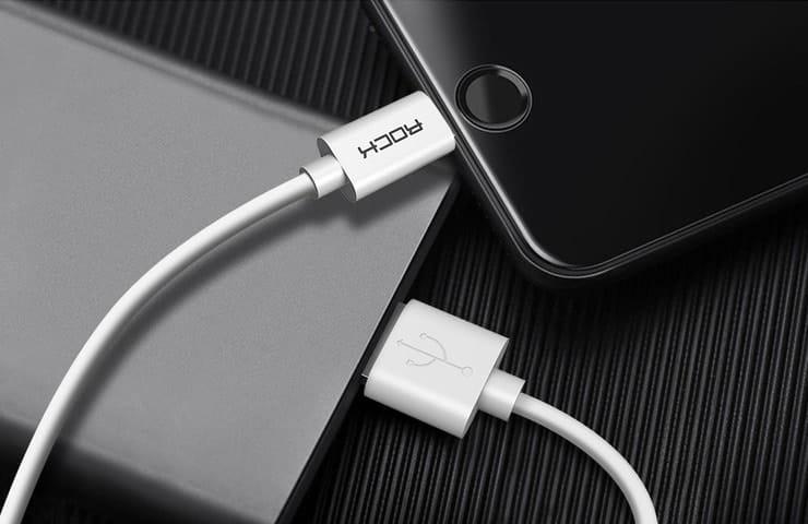 Зарядные кабели для iPhone и Android