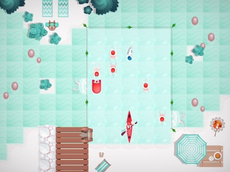 Игра Swim Out для iPhone, iPad и Apple TV