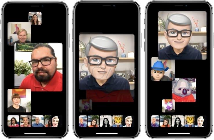 Групповые вызовы FaceTime