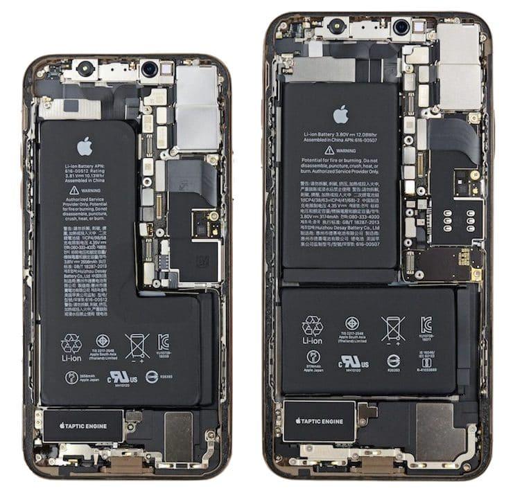teardown iphone xs iphone xs max
