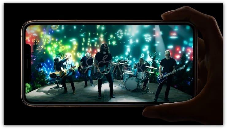 Звук iPhone Xs