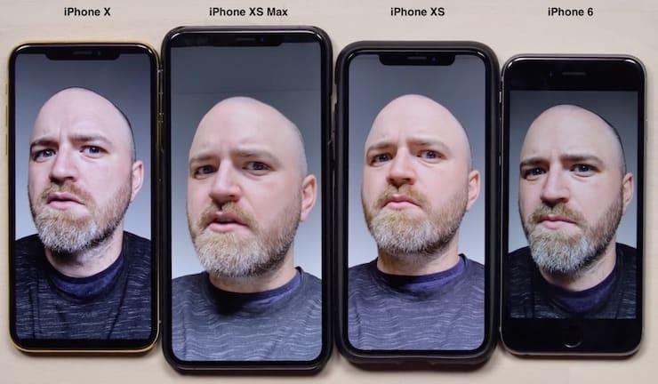 Селфи-камера iPhone XS автоматически «улучшает» кожу на фото