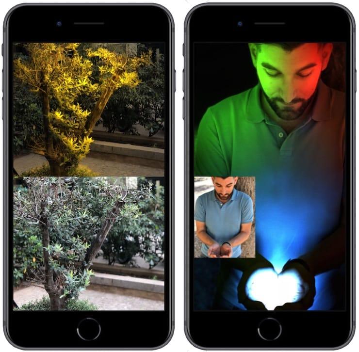Приложение Apollo для Портретного режима на iPhone