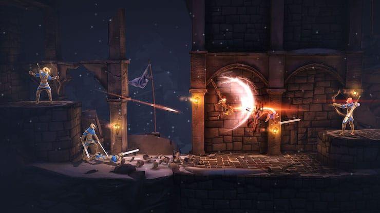 Обзор игры Grimvalor для iPhone и iPad