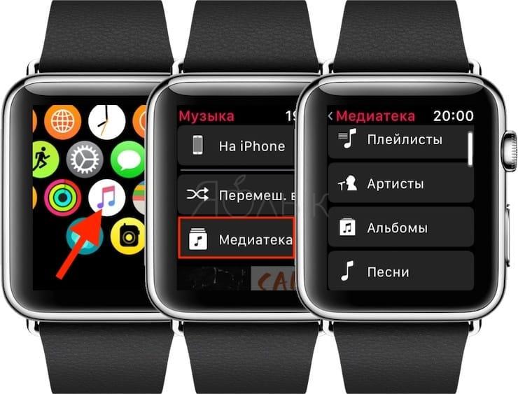 Как загружать и слушать музыку на Apple Watch