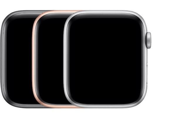 Цвета Apple Watch Series 4, алюминий, GPS + Cellular