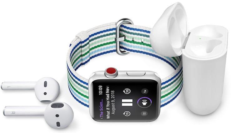 Как загрузить и слушать музыку на Apple Watch