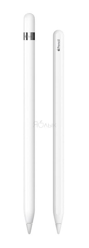 Чем внешне отличаетсяApple Pencil 1 отApple Pencil 2