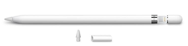Комплект (что в коробке) Apple Pencil 1