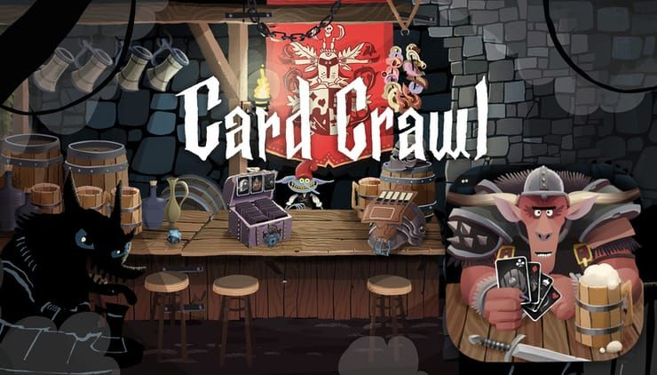 Карточная игра Card Crawl для iPhone и iPad