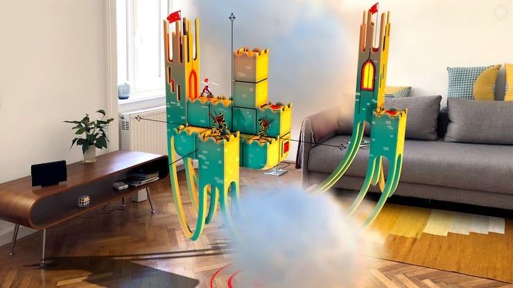 Обзор игры Euclidean Skies: впечатляющий пазл-адвенчер с поддержкой режима дополненной реальности