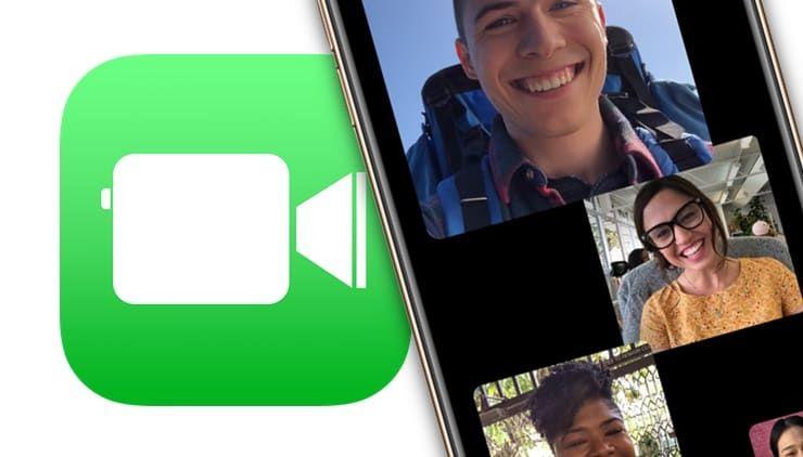Групповые звонки (аудио или видео) FaceTime