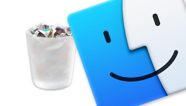 «Горячие клавиши» для удаления файлов в Корзину на macOS