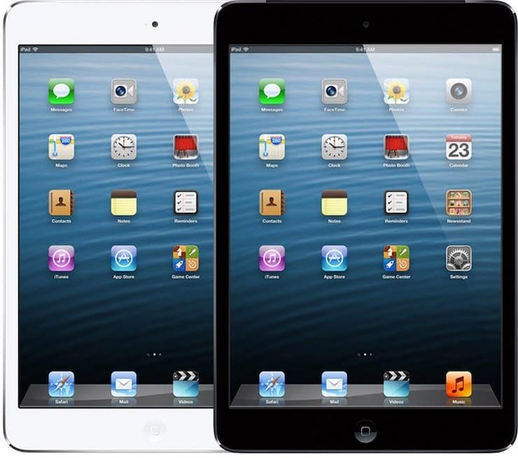 iPad mini (конец 2012 года)