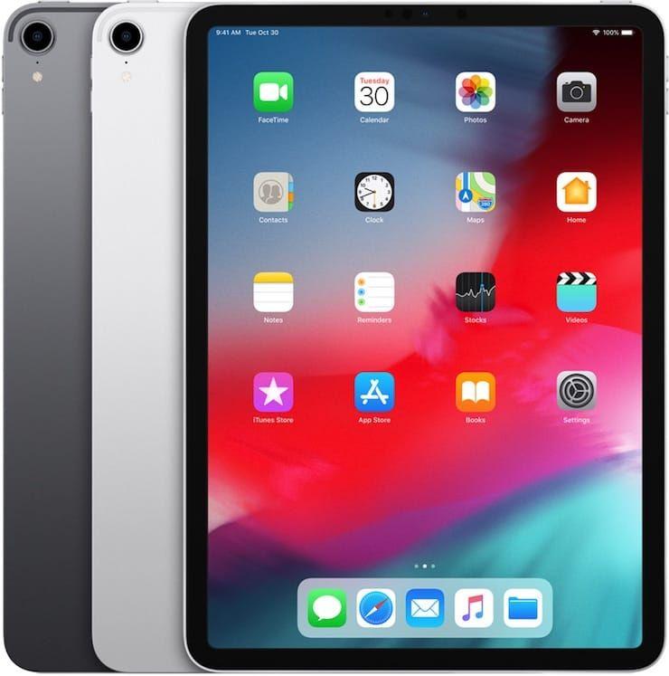 iPad Pro 11 дюймов (2018 год)