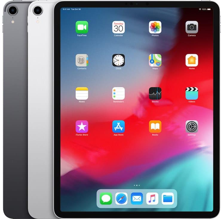 iPad Pro 12,9 дюймов (2018 год)