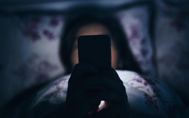 iPhone ночью