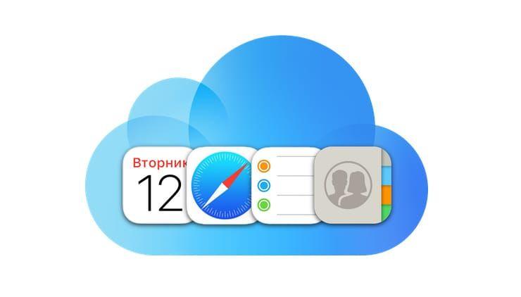 Сколько контактов, календарей, напоминаний и закладок помещается в iPhone (iCloud)