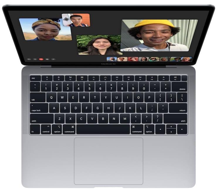 КлавиатураMacBook Air 2018