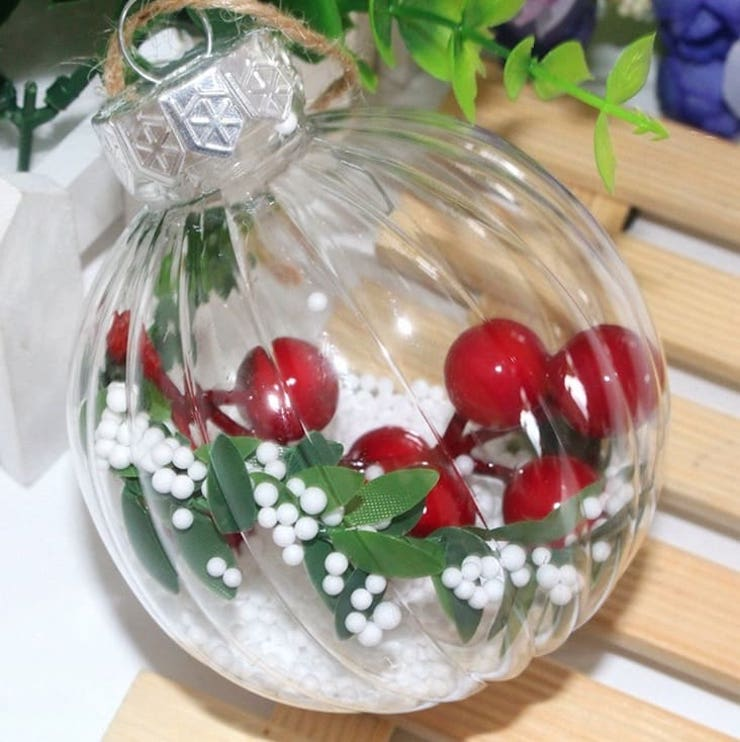 Елочные шары с АлиЭкспресс