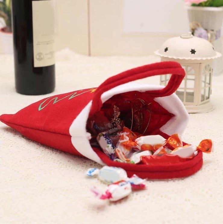 Новогодние сумки для подарков с АлиЭкспресс