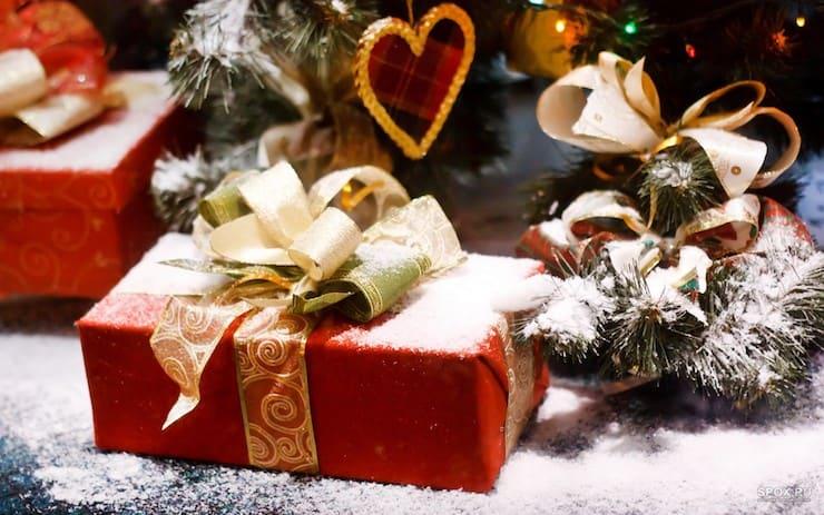 Сувениры на новый год