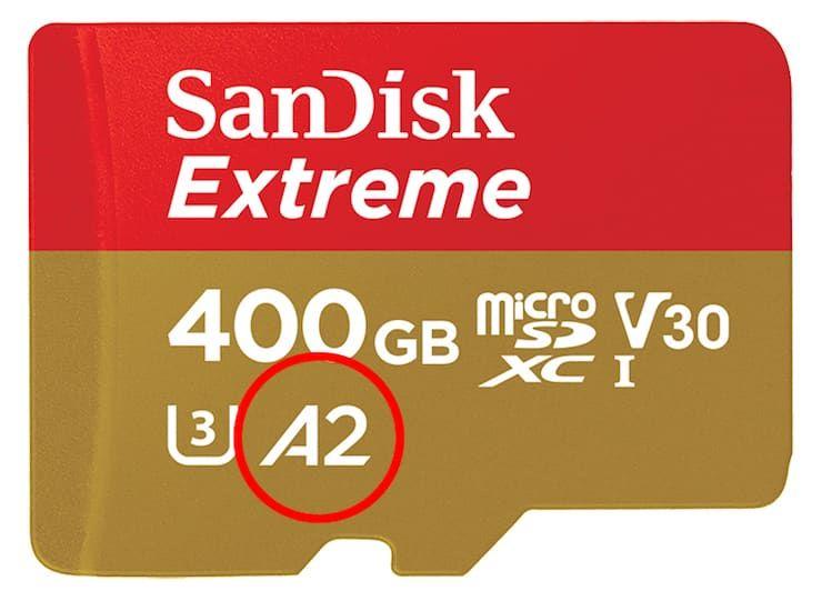 Класс производительности по скорости запуска приложений microSD карт