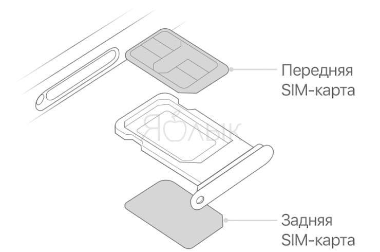 Как установить две SIM-карты в iPhone