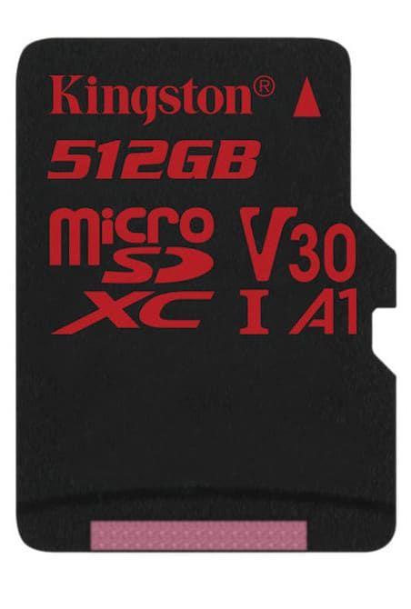 Емкость microSD карты