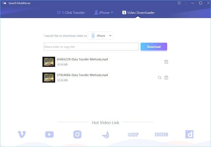 Как загружать видео на iPhone и iPad при помощиMobiMover