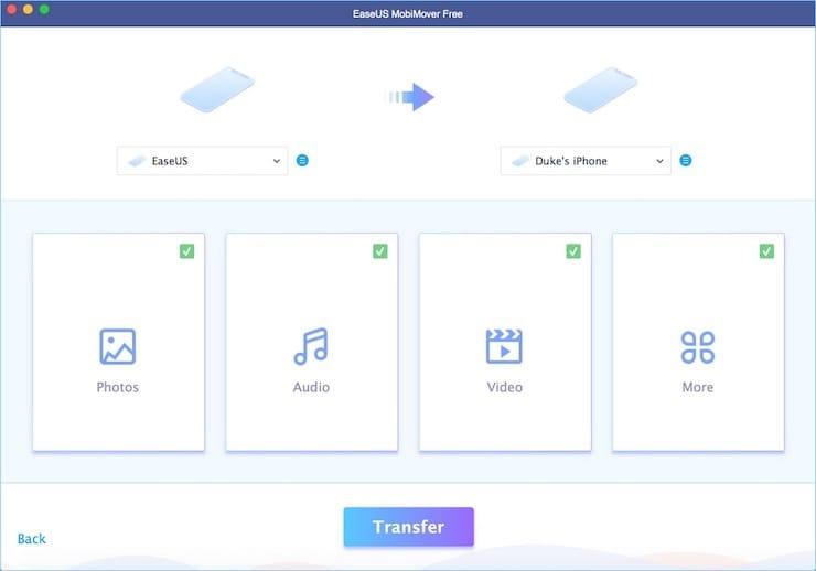 Как переносить данные между устройствами при помощи MobiMover