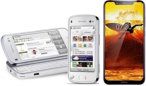 Nokia (N97 и Nokia 8.1)