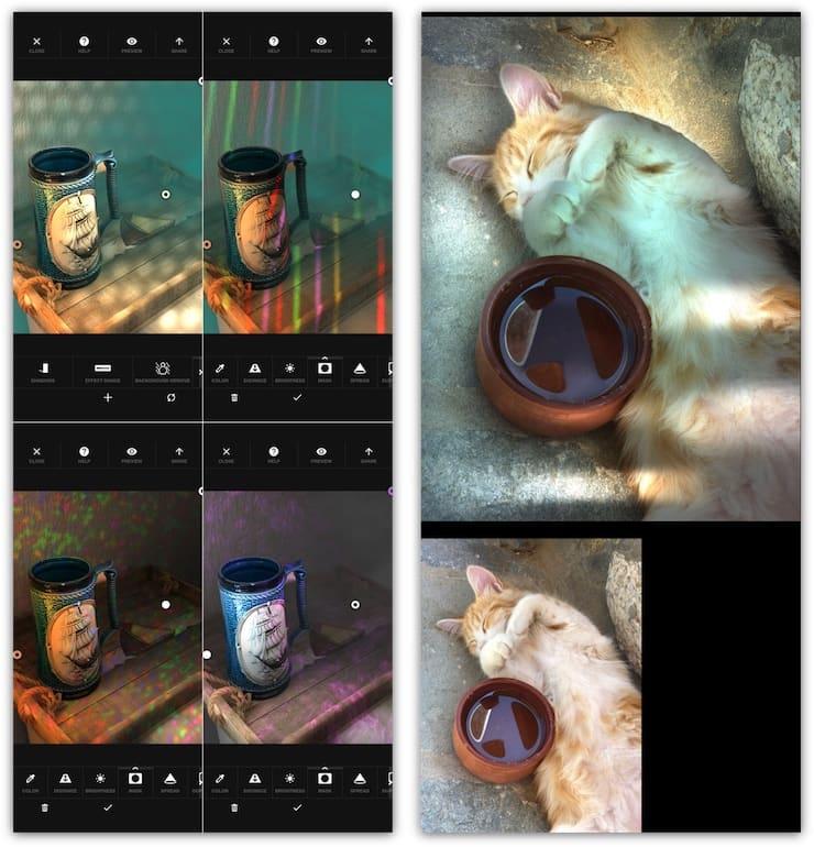 Apollo – приложение, улучшающее портретные фото на iPhone