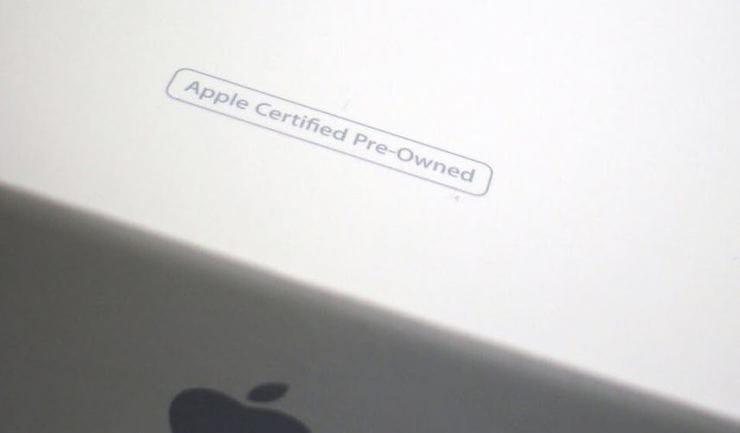 восстановленный (реф, refurbished, как новый, CPO) iPhone