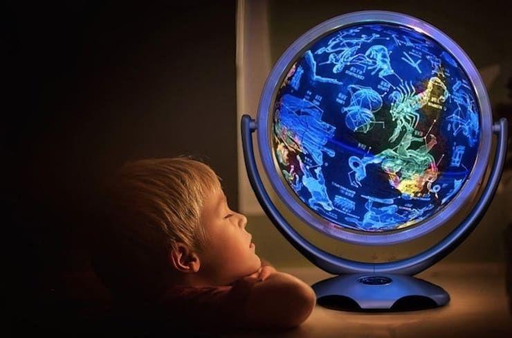 Глобус-ночник