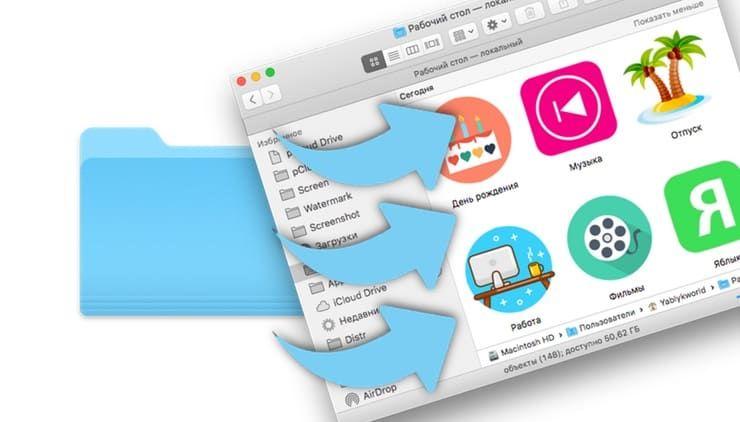 Как изменить иконку приложения, папки или файла на Mac (macOS)