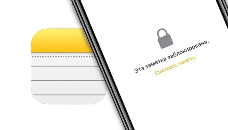 Как сбросить пароль в приложении «Заметки» на iPhone и iPad