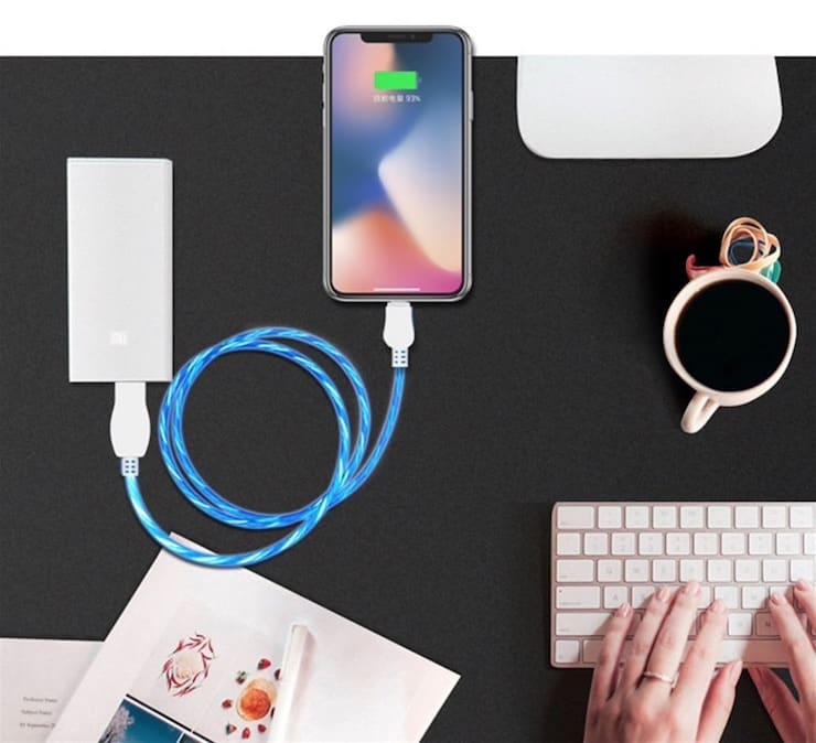 USB-кабель с анимацией