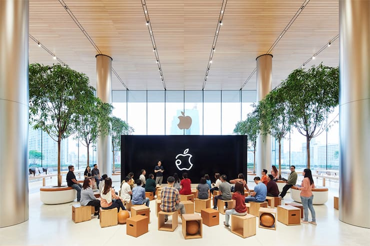 Apple Store в Бангкоке (Таиланд)