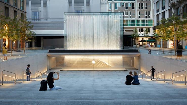 Apple Store в Милане (Италия)