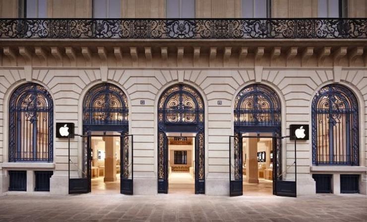 Apple Store в Париже (Франция)