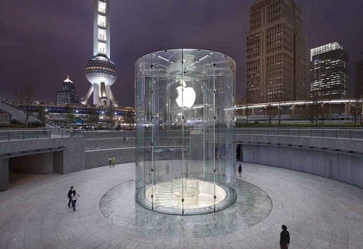 apple store в Шанхае